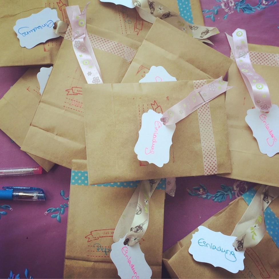 kindergeburtstags-einladungen selbst gemacht | junimama, Einladung
